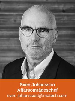 Sven Johansson Affärsområdeschef Professional Business Imatech
