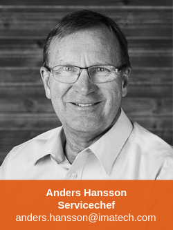 Anders Hansson Servicechef Imatech