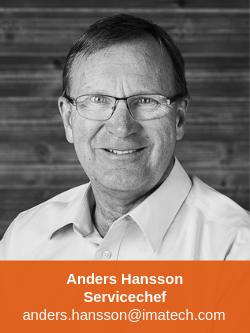 Anders Hansson Servicechef Imatech
