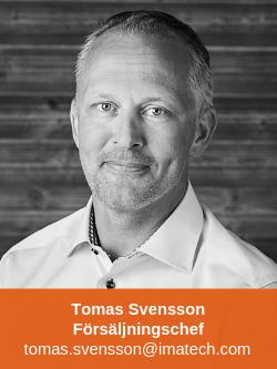 Tomas Svensson Försäljningschef Marin Fritid Imatech