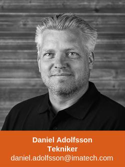 Daniel Adolfsson Tekniker Imatech