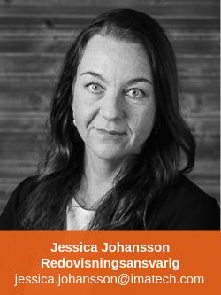 Jessica Johansson Redovisningsansvarig Imatech