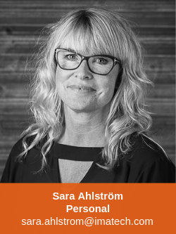 Sara Ahlström Personal Imatech