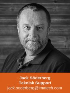 Jack Söderberg Teknisk Support Marin Fritid Imatech