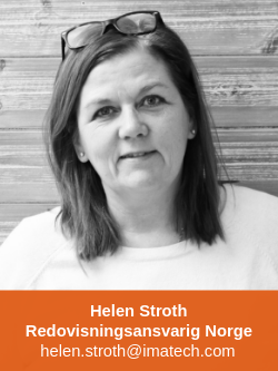 Helen Stroth Redovisningsansvarig Imatech AS
