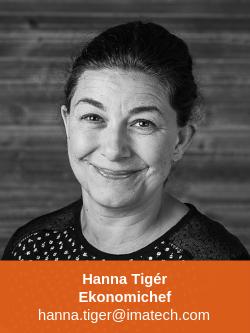 Hanna Tigér Ekonomichef Imatech