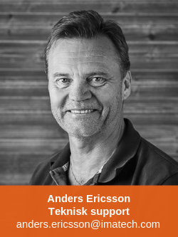 Anders Ericsson Teknisk Support Professional Business Imatech