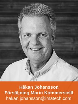 Håkan Johansson Försäljning Marin Kommersiellt Professional Business Imatech