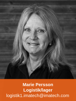 Marie Persson logistik/lager Imatech