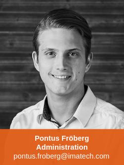 Pontus Fröberg Administration Imatech