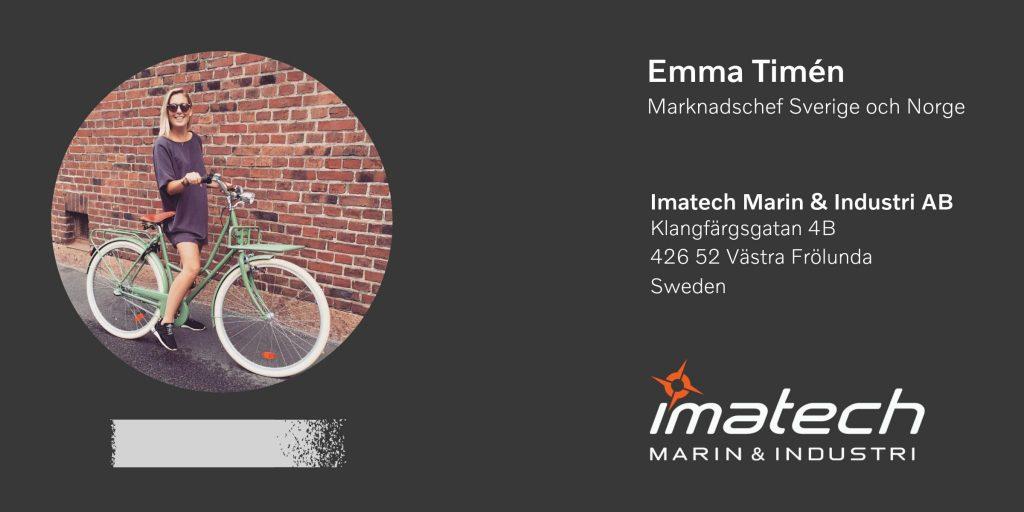Marknadschef Emma Timén